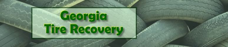 Georgia Tire Recovery logo depicts a pile of tires.